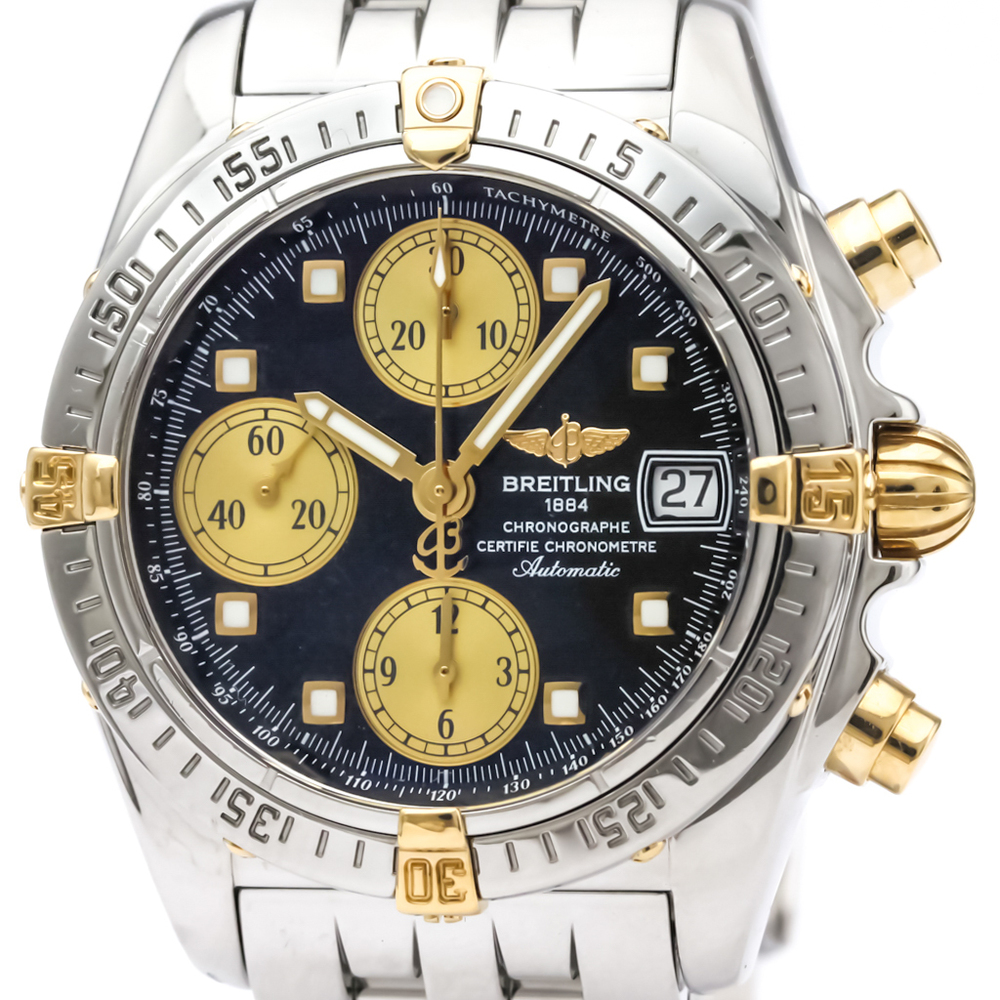 Breitling Chrono Cockpit Automatic Stainless Steel,Yellow Gold (18K) Men's Sports Watch B13357