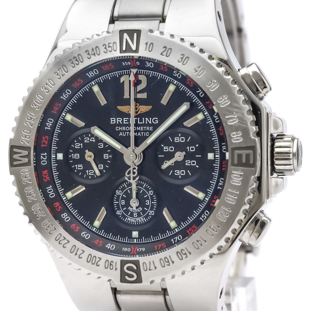 Breitling Automatic Stainless Steel Men's Sports Watch A39362