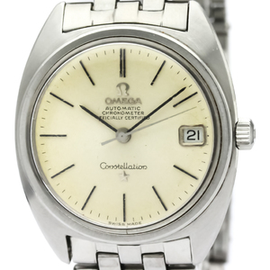 Omega Constellation Automatic Stainless Steel Men's Dress Watch 168.017