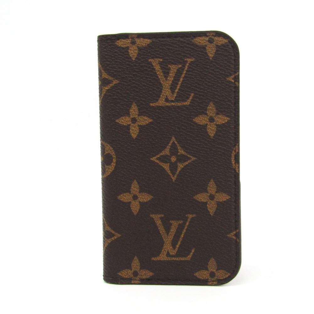 new style d4ff5 205f0 Louis Vuitton Monogram Monogram Phone Flip Case For IPhone 5c Monogram  IPHONE 5 SE Folio M61900   elady.com
