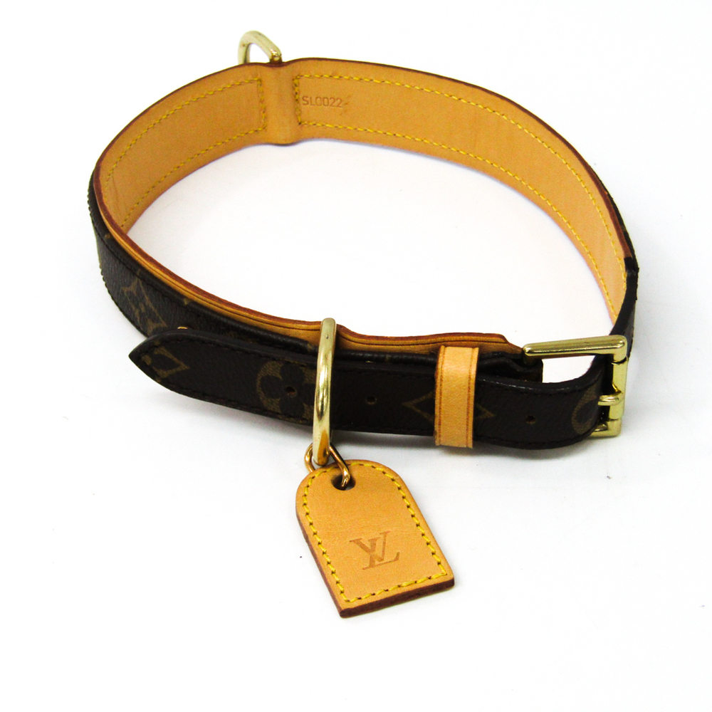 525aebe3 Louis Vuitton Monogram Dog Collar Monogram Monogram Collier Baxter GM  M58070 | elady.com