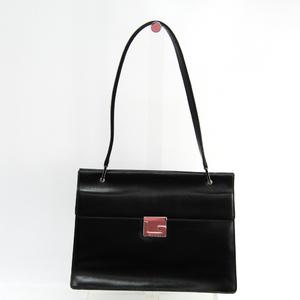 a4eadca791 Gucci 001-1732 Women s Leather Shoulder Bag Black