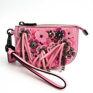 Coach 59527 Women's Leather Pouch Pink