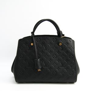 ルイ・ヴィトン(Louis Vuitton) モノグラムアンプラント モンテーニュ MM M41048 レディース ハンドバッグ ノワール