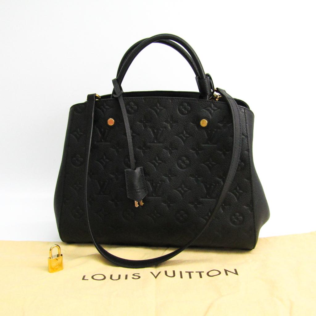 b6226e5d32 Louis Vuitton Monogram Empreinte Montaigne MM M41048 Women's Handbag ...