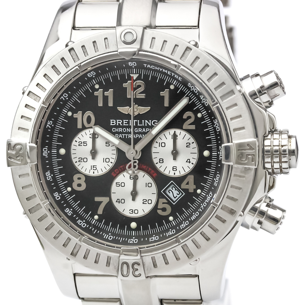Breitling Avenger Quartz Stainless Steel Men's Sports Watch A69360