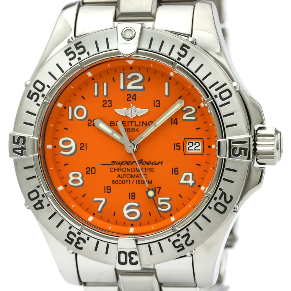 Breitling Superocean Automatic Stainless Steel Men's Sports Watch A17360