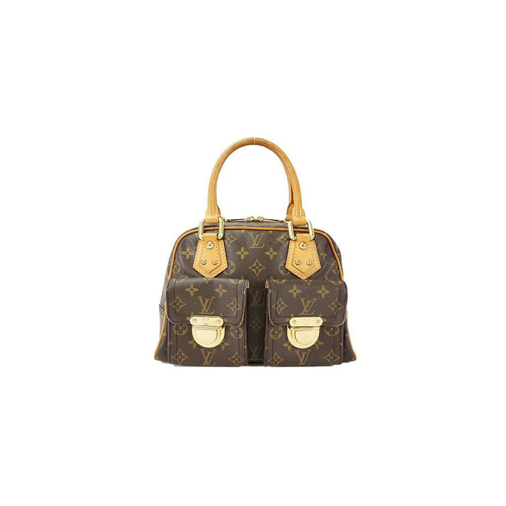 dfd3d7b2a009 Auth Louis Vuitton Handbag Monogram Manhattan PM M40026