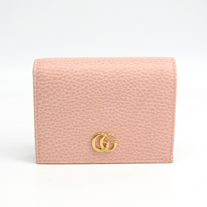 Gucci Leather Card Case Light Pink 456126