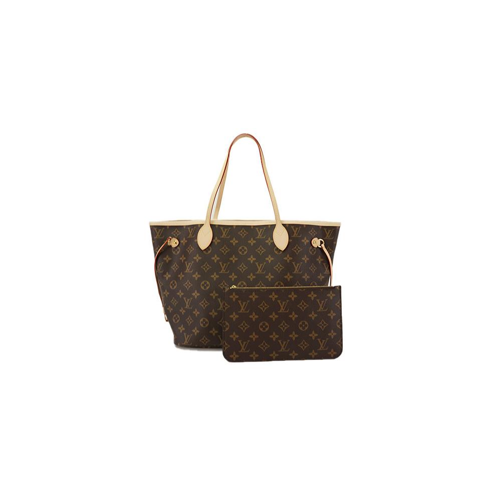 b927aaa259ba Auth Louis Vuitton Tote Bag Monogram Neverfull MM M40995 Women s Red Women s