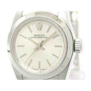 ROLEX ロレックス オイスターパーペチュアル 67180 T番 ステンレススチール 自動巻き レディース 時計