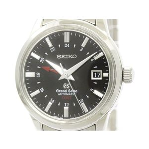 GRAND SEIKO グランドセイコー メカニカル GMT SBGM009 ステンレススチール 自動巻き メンズ 時計