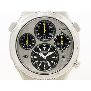 SEIKO セイコー キネティック クロノグラフ SATX003 チタン ステンレススチール メンズ 時計