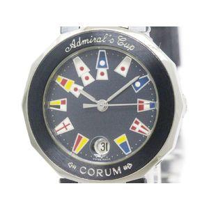 CORUM コルム アドミラルズカップ ステンレススチール クォーツ レディース 時計