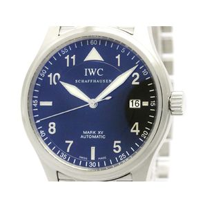 IWC Mark 15 XV Spitfire Steel Automatic Watch IW325307 3253