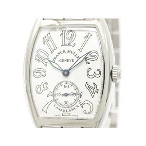 FRANCK MULLER フランクミュラー カサブランカ ステンレススチール 手巻き レディース 時計