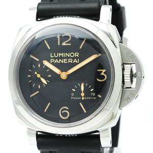 PANERAI パネライ ルミノール 1950 3デイズ パワーリザーブ ステンレススチール ラバー 手巻き メンズ 時計