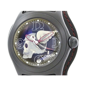 Never Used CORUM Bubble Night Flyer LTD Edition Steel Watch 082.150.45