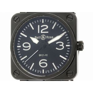 BELL & ROSS Ceramic Rubber Automatic Mens Watch   -CB BR01-92