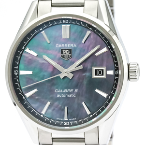 Tag Heuer Carrera Automatic Stainless Steel Men's Sports Watch WAR211F