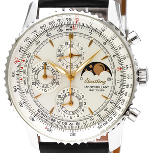 Breitling Montbrillant Automatic Stainless Steel Men's Sports Watch A19030