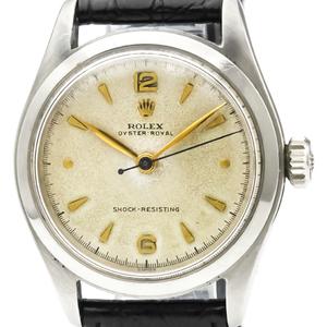 ロレックス(Rolex) オイスター・ロイヤル 手巻き ステンレススチール(SS) メンズ ドレスウォッチ 6144