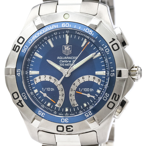 Tag Heuer Aquaracer Quartz Stainless Steel Men's Sports Watch CAF7012
