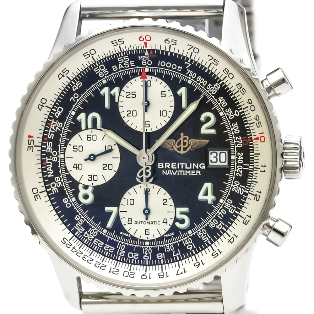 BREITLING Old Navitimer Steel Automatic Mens Watch A13322