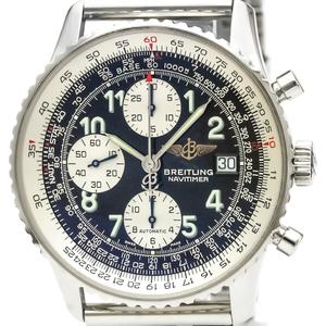 【BREITLING】ブライトリング オールドナビタイマー ステンレススチール 自動巻き メンズ 時計 A13322