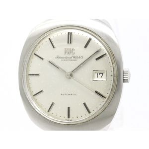 Vintage IWC Schaffhausen Steel Automatic Mens Watch Head Only -