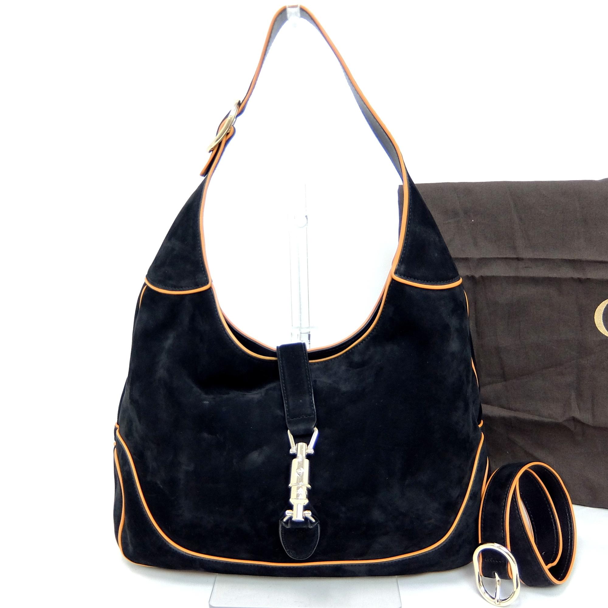 4c2e47e7427 Auth Gucci Jackie Women s Leather