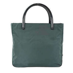 Auth Prada Hand Bag Nylon Green