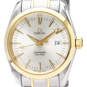 Omega Seamaster Quartz Stainless Steel,Yellow Gold (18K) Men's Sports Watch 2318.30