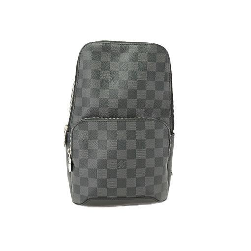b05784fbaff Auth Louis Vuitton Sling Bag Damier Graphite Avenue N41719 ...