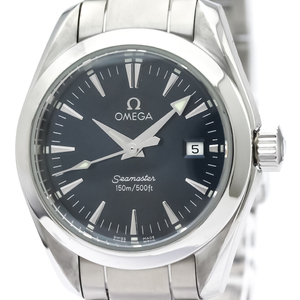 Omega Seamaster Quartz Stainless Steel Women's Sports Watch 2577.80