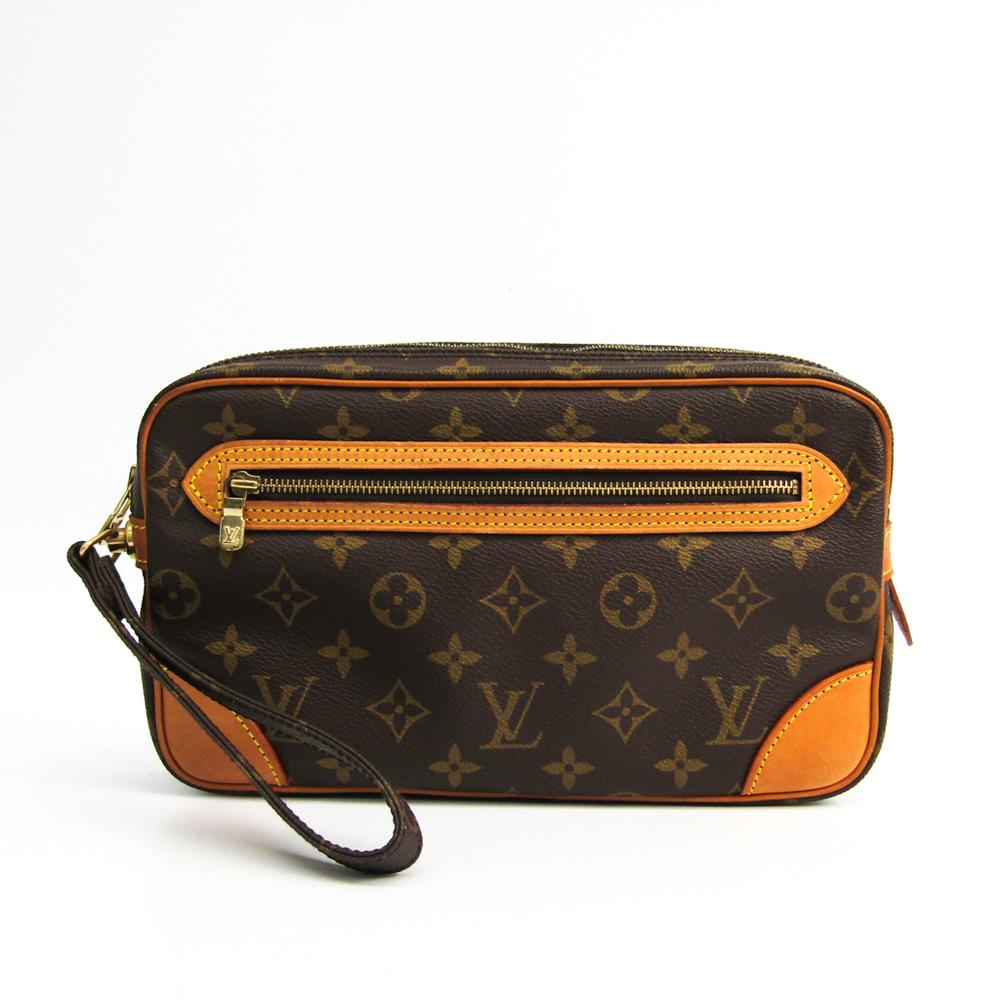 83869495e Louis Vuitton Monogram Marly Dragonne GM M51825 Clutch Bag Monogram ...