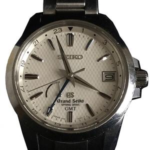セイコー(Seiko) グランドセイコー SBGE009 9R66-0AE0 スプリングドライブ ステンレススチール(SS) メンズ 腕時計
