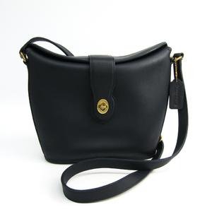 5da9fb8cb4 Coach 9948 Women s Leather Shoulder Bag Navy