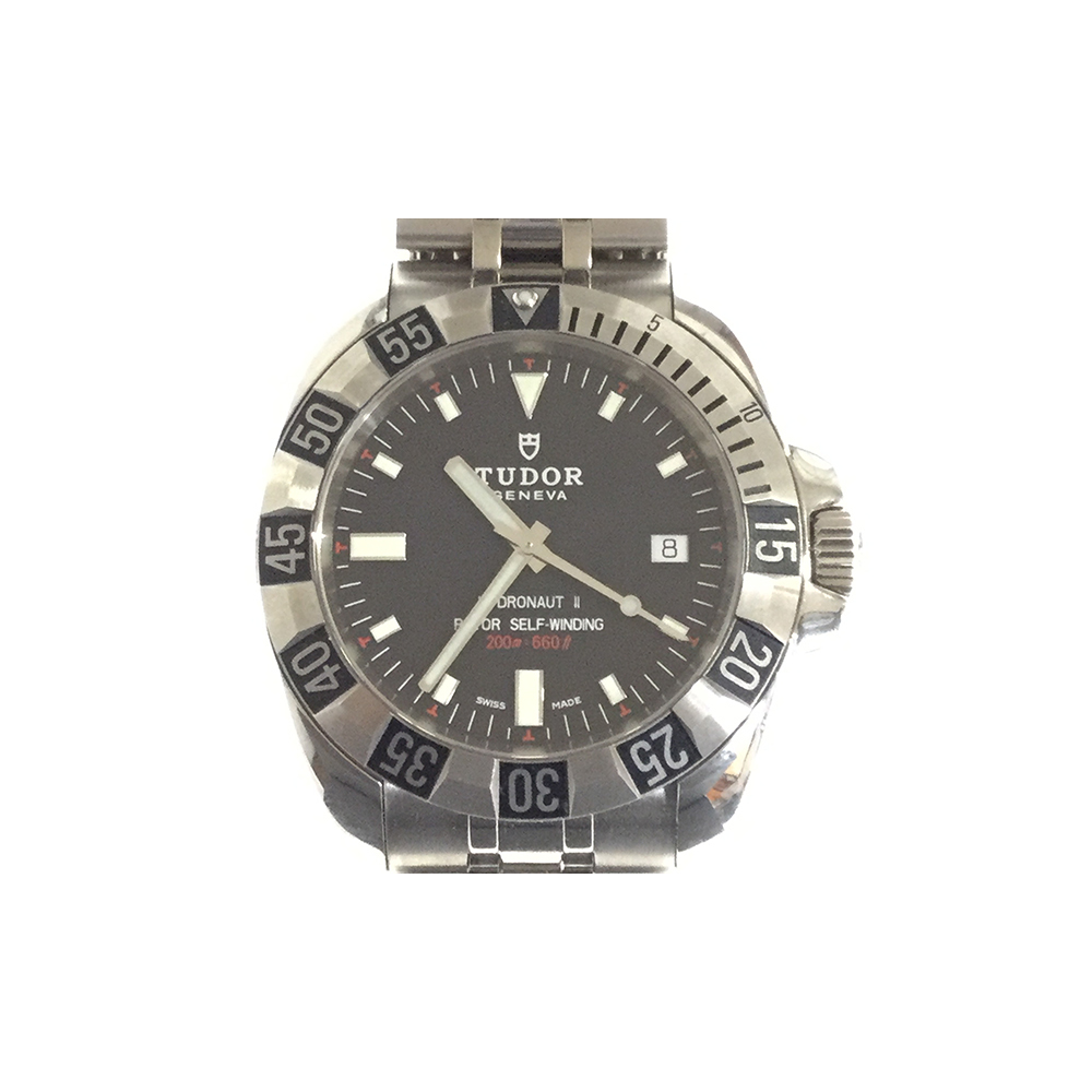 Tudor HydronautⅡ 20040 Stainless Steel Men's Watch Ⅱ20040AT