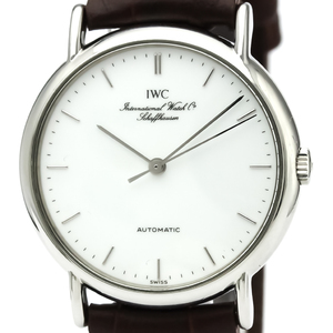 IWC Portofino Automatic Stainless Steel Men's Dress Watch IW3514