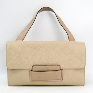 Furla Maia 869616 Women's Leather Handbag Beige
