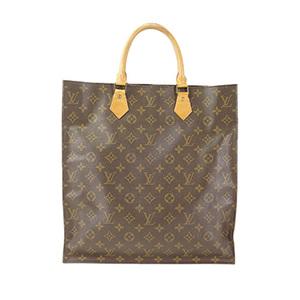 13362bd4bf43 Auth Louis Vuitton Handbag Monogram Sac Plat M51140