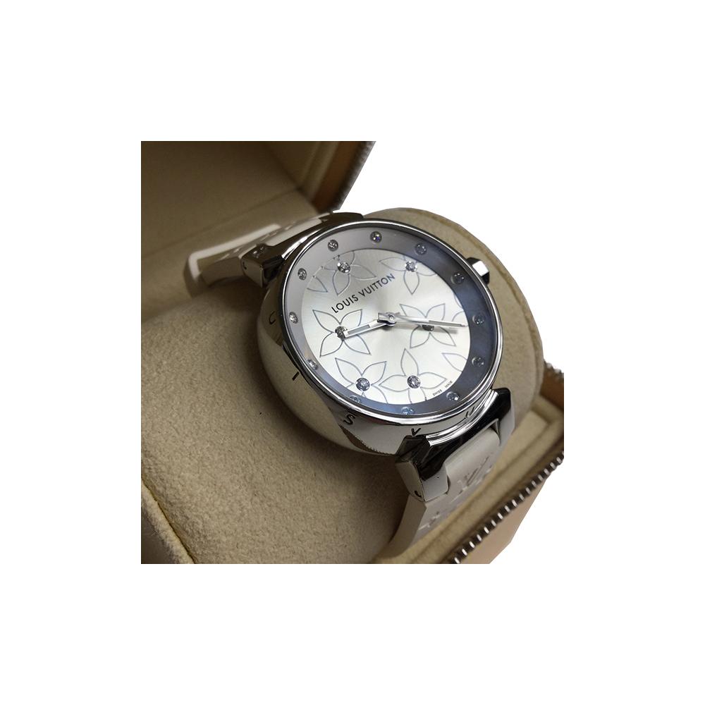Louis Vuitton Q131F1 Quartz Stainless Steel Women's Watch