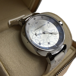 Louis Vuitton Q131F1 Quartz Stainless Steel Women's Watch