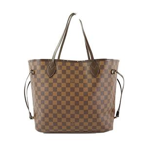 a0b94cff9 Auth Louis Vuitton Tote Bag Damier Neverfull MM N51105