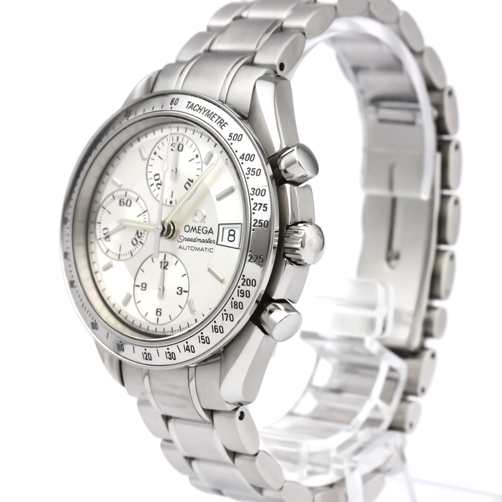 5a078ecbf5b Polished OMEGA Speedmaster Date Steel Automatic Mens Watch 3513.30 ...