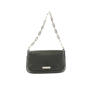 Auth Gucci Chain Shoulder Bag 0013829 Leather