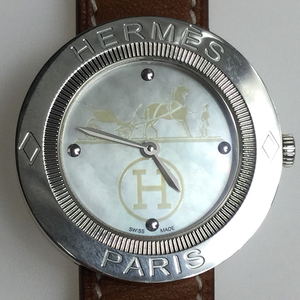 Hermes PP1.410 Quartz Stainless Steel Women's Watch