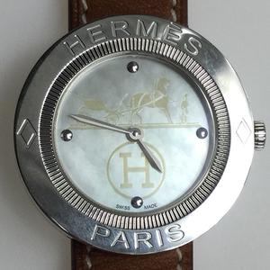 エルメス(Hermes) パスパス PP1.410 クォーツ ステンレススチール(SS) レディース 腕時計