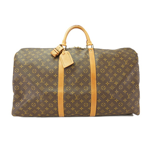 Auth Louis Vuitton Boston Bag Monogram Keepall60 M41422